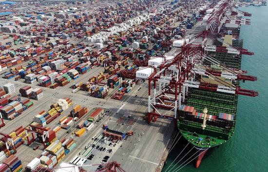 WTO estimates 18.5-pct decline of global trade in Q2