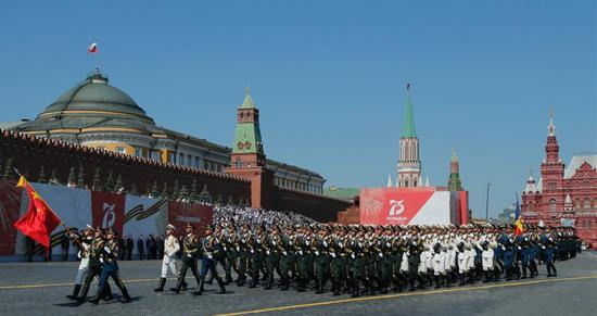 China joins Russia's V-Day parade to honor WWII victory