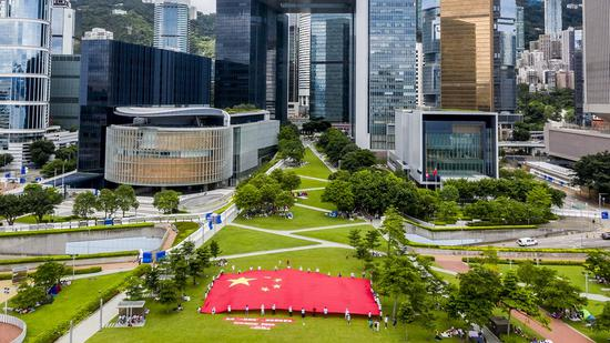 HKSAR gov't welcomes statement by pro-development camp for joint efforts to sail through predicament