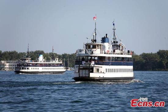 Ferry service to Toronto Islands resumes for public