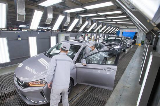 China's factory, service sectors expand in June