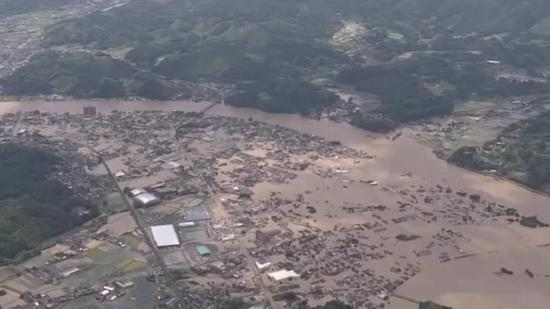 15 found with no vital signs due to flooding in southwestern Japan
