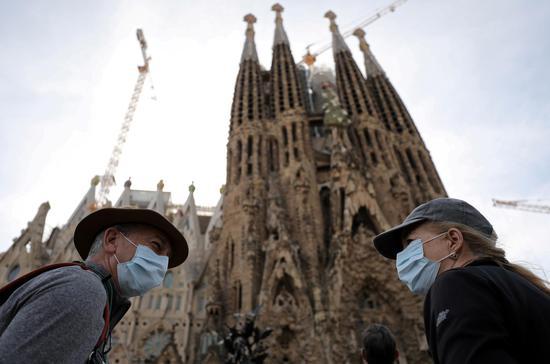 Spain's iconic Sagrada Familia basilica reopens