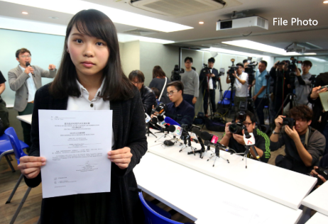 Hong Kong activist Agnes Chow admits two charges