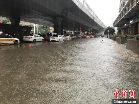 China's Wuhan ups flooding response level to second highest