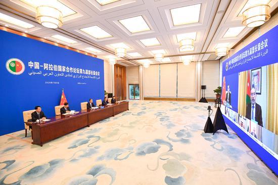 Meeting boosts China-Arab ties amid contagion