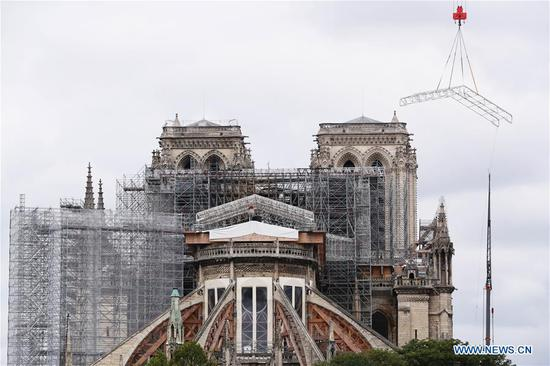 Notre-Dame spire to be rebuilt in original form: French minister