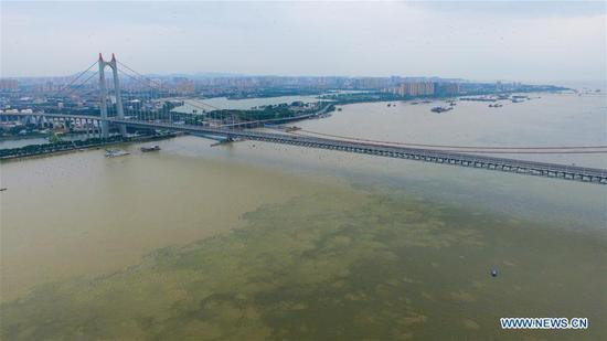 中国主要河流,湖泊水位上升