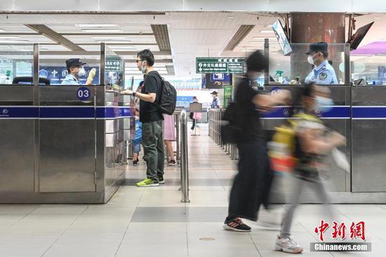澳门旅客隔离在广东结束