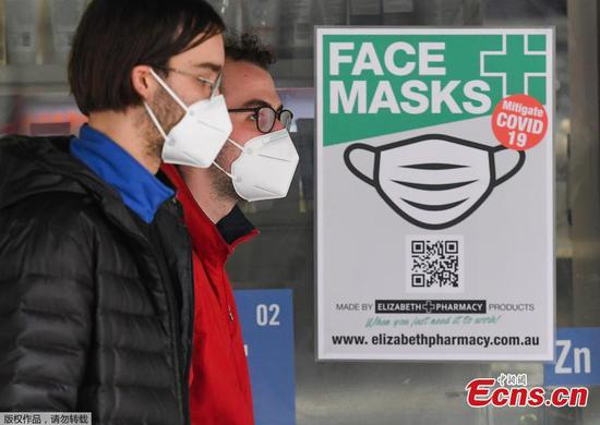 Face masks made mandatory in Melbourne