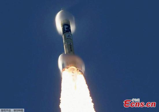 阿联酋的火星探测器从日本航天中心发射升空