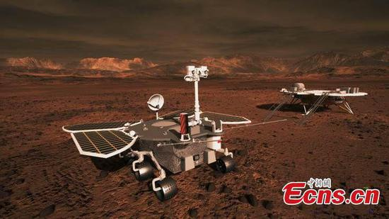 中国制造的火星探测器即将执行任务