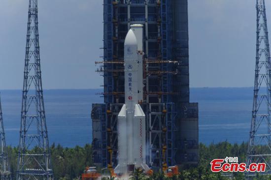 中国首次发射火星任务