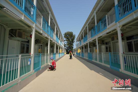 成为香港Covid-19患者的隔离设施