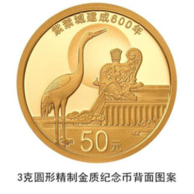 China to issue Forbidden City commemorative coins