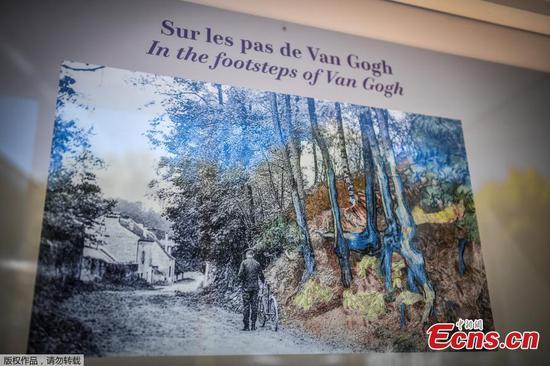Postcard reveals site of Van Gogh's 'farewell note in colour' before suicide