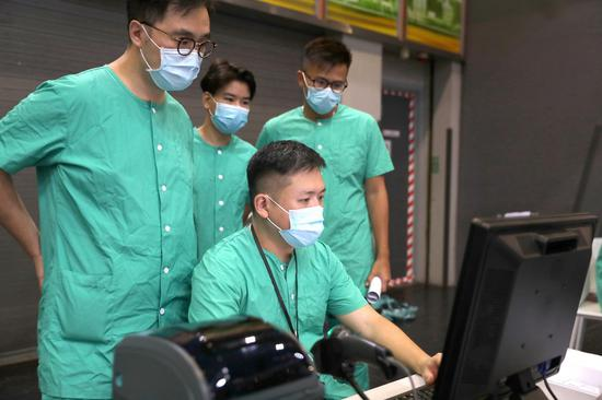 Hong Kong has motherland's resolute backing to triumph over epidemic
