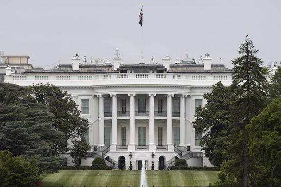 2020年5月21日,白宫将在美国华盛顿特区出现。(摄影:Ting Shen /新华社)