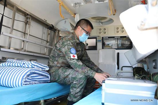 Chinese peacekeepers to provide medical aid to Beirut after deadly explosions