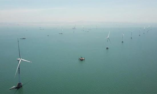 China poised to power huge growth in global offshore wind energy: report