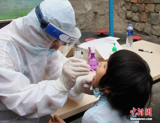 Online platform launched to check COVID-19 test results in NW China's Xinjiang