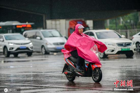 Strong rainfall coming to Beijing