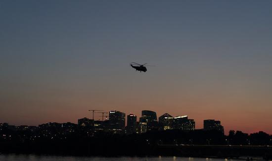 U.S. Air Force helicopter shot, one crew member injured: media