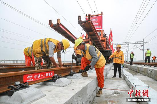 Beijing-Xiongan intercity high speed railway completed