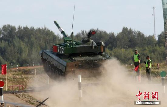 International Army Games 2020 open in Russia
