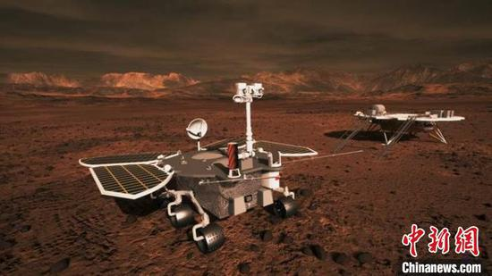 China's Mars probe completes 2nd orbital correction
