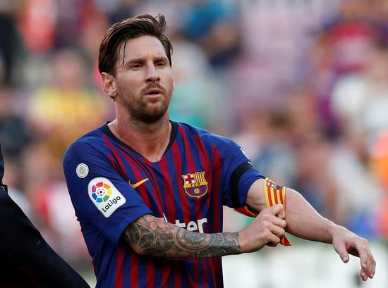 No Messi as Barca return to training