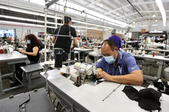 U.S. manufacturing activity expands in August for third straight month