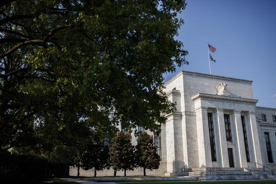 Photo taken on Aug. 26, 2020 shows the U.S. Federal Reserve HQ in Washington, D.C., the United States. (Photo by Ting Shen/Xinhua)