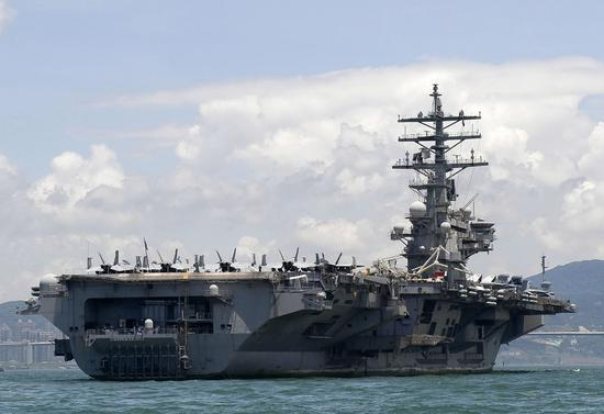 Sailors aboard USS Ronald Reagan aircraft carrier test positive for COVID-19