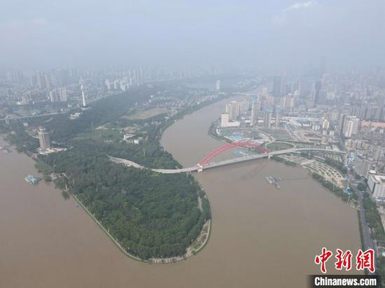 Senior executives from multinational companies visit Wuhan