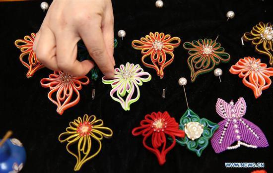 传统手工艺品的继承者,非物质文化遗产在CIFTIS展示技能