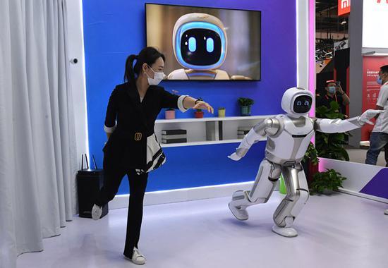 中国国际服务贸易展览会的技术亮点