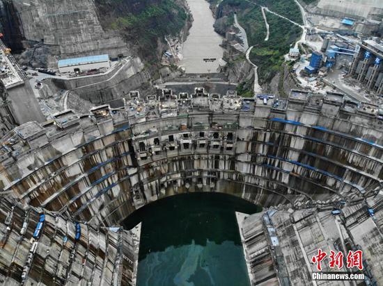 中国西南地区正在建设的世界第二大水电站