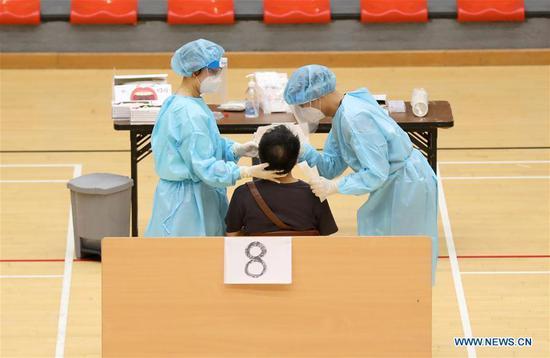 香港完成大规模COVID-19筛查,已测试178万