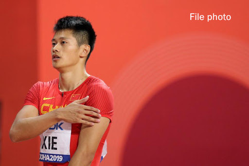 Xie Zhenye crowned in men's 200m at Chinese National Athletics Championships