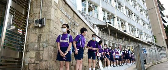 Hong Kong schools resume face-to-face classes with epidemic under control