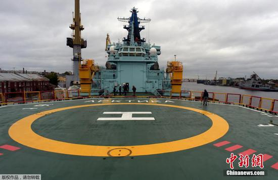 New icebreaker Arktika sets course for Barents Sea
