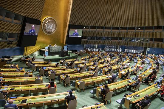China firmly opposes U.S. smears at UN podium: spokesperson