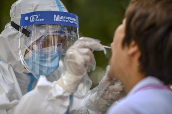 China increases nucleic acid testing capacity