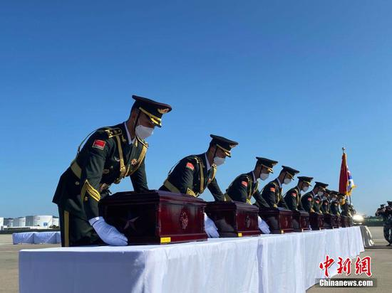 Remains of Chinese soldiers killed in Korean War to return home