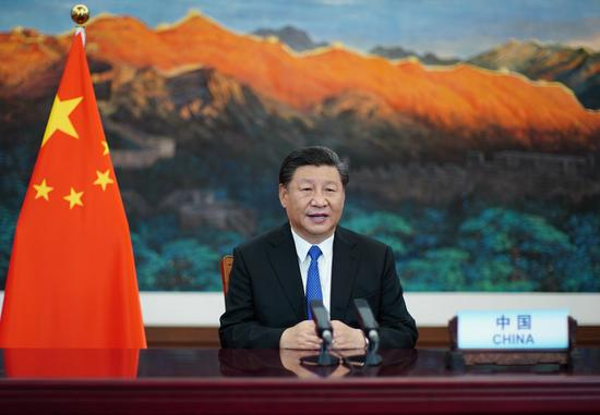 Xi's statements at UN meetings demonstrate China's global vision, firm commitment