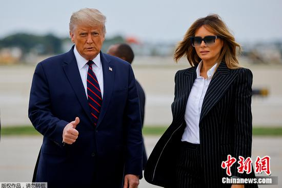 Trump, wife test positive for COVID-19