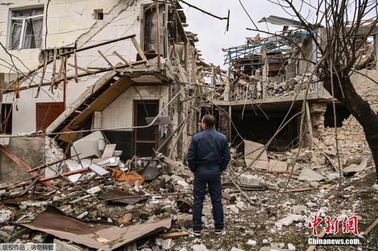 Armenia, Azerbaijan agree to ceasefire in Nagorno-Karabakh from Oct. 10