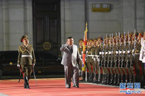DPRK stages military parade to celebrate WPK's 75th founding anniversary