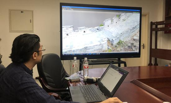 Cutting-edge technologies promote the restoration of Badaling Great Wall